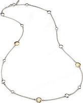 John Hardy Women's Palu 18K Yellow Gold & Sterling Silver STation Sautoir Necklace - Silver Gold