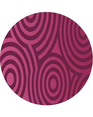 East Urban Home Malaspina Abstract Wool Purple/Light Pink Area Rug X113309755 Rug Size: Rectangle 2' x 3'