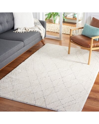 Amazing Deal On Martha Stewart 0727 Area Rug In Light Grey White Rugs Size Rectangle 4 X 6