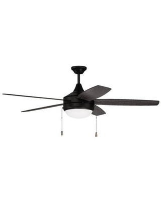 """52"""" Vasek 4 - Blade LED Standard Ceiling Fan with Remote Control and Light Kit Included"""