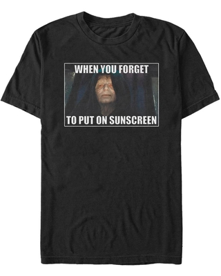 Star Wars Forget To Put On Sunscreen T-Shirt