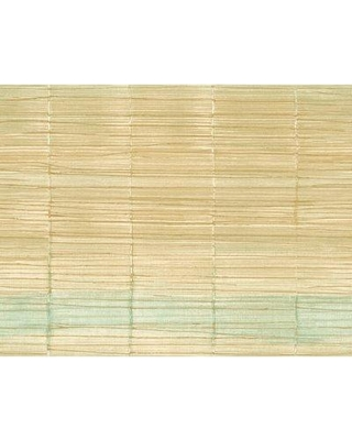 """Highland Dunes Ferrin Bamboo 27' L x 27"""" W Wallpaper Roll BF098325 Color: Brown/Green"""