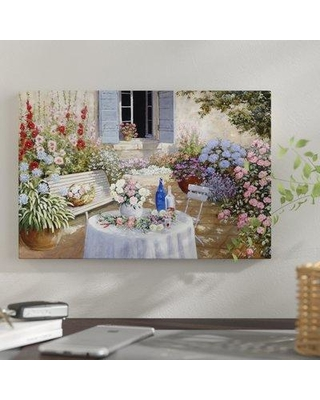"""East Urban Home 'Sparkling Scene' Print on Canvas ESUI2174 Size: 26"""" H x 40"""" W x 0.75"""" D"""