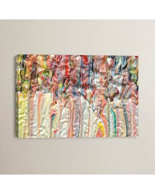 """Brayden Studio Untitled 38 by Mark Lovejoy Painting Print on Wrapped Canvas BRSD2923 Size: 8"""" H x 12"""" W x 0.75"""" D"""