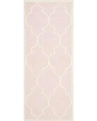 Safavieh Cambridge Light Pink/Ivory 3 ft. x 6 ft. Runner Rug