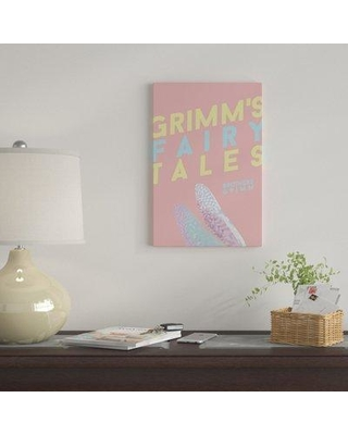 """East Urban Home 'Grimm's Fairy Tales' Graphic Art on Wrapped Canvas EUME3187 Size: 18"""" H x 12"""" W x 1.5"""" D"""