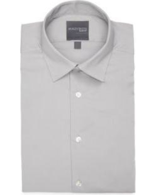 d197f1b5c7 Madison Madison Grey Slim Fit Stretch Dynamic Cooling Dress Shirt from Belk  | more