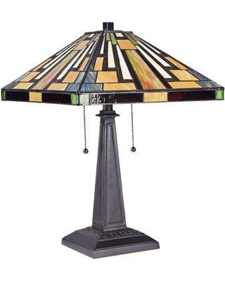 """Millwood Pines Harney Mission 22"""" Table Lamp W000732018"""
