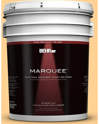 BEHR MARQUEE 5 gal. Home Decorators Collection #hdc-SP14-7 Full Bloom Flat Exterior Paint & Primer