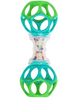 Oball Shaker Rattle Toy, Ages Newborn +