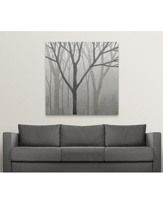 """Great Big Canvas 'Spring Trees Graystone II' by Kathrine Lovell Painting Print 2434148_1 Size: 48"""" H x 48"""" W x 1.5"""" D Format: Canvas"""