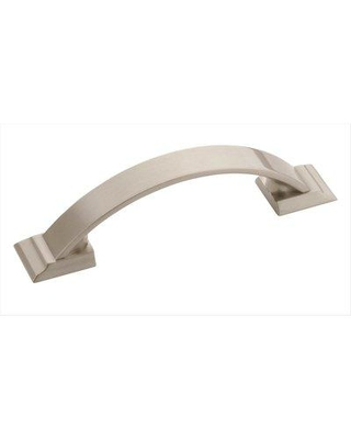 """Amerock Candler Cabinet 3"""" Center to Center Arch Pull Multipack 5BX29349 Finish: Satin Nickel"""