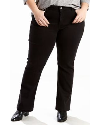 fc580ac313b Find the Best Savings on Plus Size Levi s Classic Fit Straight-Leg ...
