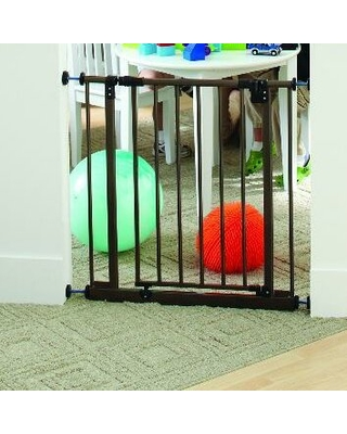 Easy Close Safety Gate Toddleroo by Northstates Color: Bronze