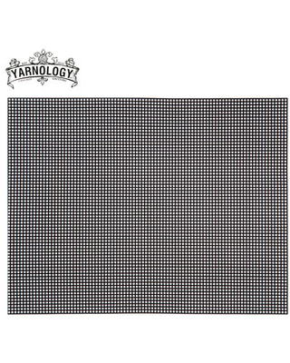 1 sheet 10 Count Plastic Canvas 33 x 26 cm Embroidery Canvas Plastic mesh