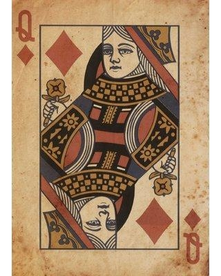 PTM Queen Graphic Art Print on Wrapped Canvas 9-4564b