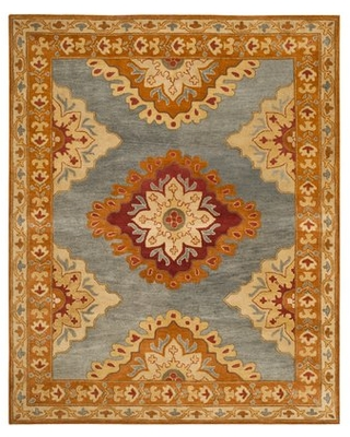 Cranmore Hand-Tufted Wool Multicolor Area Rug Charlton Home Rug Size: Rectangle 8' x 10'