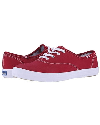 Keds Champion-Canvas CVO (Ribbon Red) Women's Lace up casual Shoes