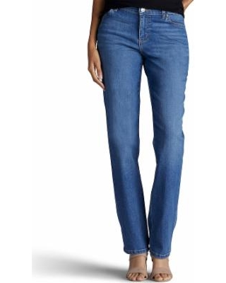 4168fbf2746 Find the Best Savings on Women's Lee Relaxed Fit Straight Leg Jeans ...