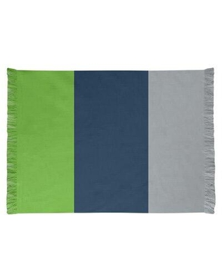 East Urban Home Seattle Football Blue/Gray/Green Area Rug FCJK0442 Backing: Yes