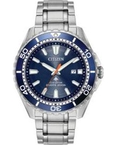 Citizen Stainless Steel Men's Eco-Drive Stainless Steel Dive Bracelet Watch