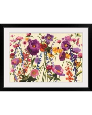 """Great Big Canvas 'Couleur Printemps I' by Shirley Novak Painting Print 1418573_1 Size: 20"""" H x 26"""" W x 1"""" D Format: Black Framed"""