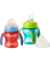 Evenflo Soft Flo Trainer Cup- 2pk, Multi-Colored