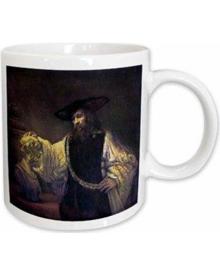 East Urban Home Aristotle Contemplating the Bust of Homer Coffee Mug W000583910