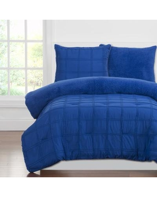 Crayola LLC Crayola Dream Comforter Set PPBB-XQU Size: Twin Color: Berry Blue
