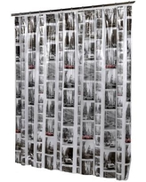 Ben and Jonah New York Vinyl Shower Curtain SCV-NYC