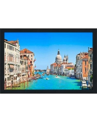 """Bloomsbury Market 'When in Rome' Framed Photographic Print BI066397 Size: 21.5"""" H x 27.5"""" W x 0.75"""" D Format: Espresso Framed"""