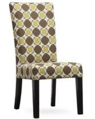 Uniquely Furnished Kristen Upholstered Dining Chair 330- Body Fabric: Aura Fern