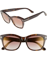 6a2fc9bb90c6 Score Big Savings on Tom Ford Women s Gradient FT0619-47F-52 Brown ...