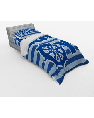 Ahoy Its a Boy Duvet Cover Set East Urban Home Size: Twin Duvet Cover + 2 Additional Pieces