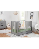 Carter's by DaVinci Colby 4-in-1 Convertible Crib with Storage F11951 Color: Gray