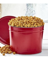 Simply Red 2 Gallon Pick-A-Flavor Popcorn Tins - Caramel by The Popcorn Factory