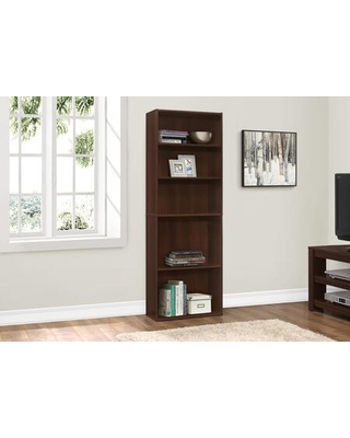 """I 7466 72""""H 5 Shelves Bookcase in Cherry"""