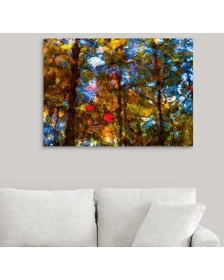 "Ebern Designs 'Sedgwick Reflection' Photographic Print on Canvas X111464542 Size: 27"" H x 36"" W x 1.5"" D"