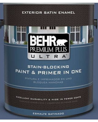 BEHR ULTRA 1 gal. #S530-6 Extreme Satin Enamel Exterior Paint and Primer in One