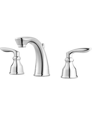 Pfister Avalon Centerset Faucet Bathroom Faucet with Drain Assembly LG49-CB1 Finish: Polished Chrome