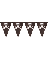 Pirate's Map Flag Banner, Party Banner