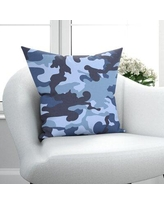 Sales For Mcsherrystown Not So Basic Throw Pillow Ebern Designs Size 18 X 18 Color Navy Blue