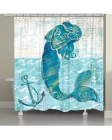 Rosecliff Heights Provance Mermaid of the Seven Seas Shower Curtain ROHE3001