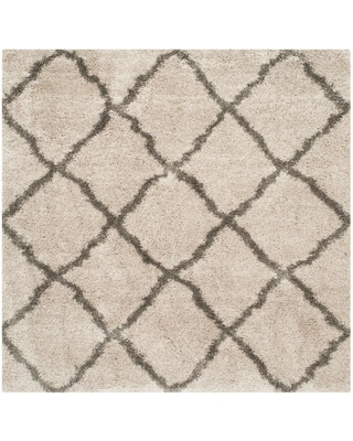 Safavieh Belize Shag Taupe/Gray (Brown/Gray) 7 ft. x 7 ft. Square Area Rug