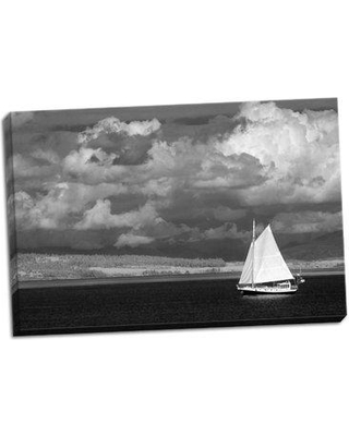 Breakwater Bay 'Port Townsend Sailboat II' Photographic Print on Wrapped Canvas BF052596