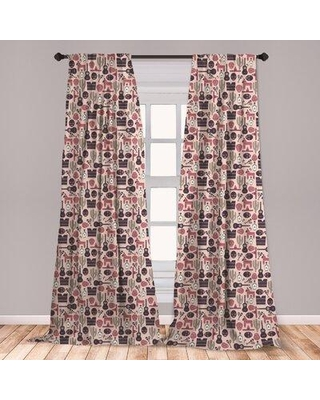 Amazing Savings On East Urban Home Mexican Print Room Darkening Rod Pocket Curtain Panels Fcni5636 Size Per Panel 28 X 84