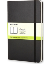 Moleskine Unlined Journal Pocket - Black Hardcover