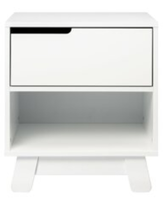 babyletto Hudson 1 Drawer Nightstand Color: White