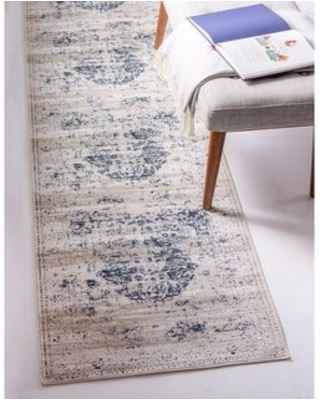 """Unique Loom Hoover Chateau Area Rug (2'2"""" x 6'7"""" Runner - Beige)"""