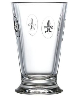 Fleur De Lys 10 oz. Whiskey Glass La Rochere